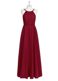 Shop Azazie Bridesmaid Dress - Azazie Justine in Chiffon. Find the perfect made-to-order bridesmaid dresses for your bridal party in your favorite color, style and fabric at Azazie. Dusty Blue Bridesmaid Dresses, Red Bridesmaids, Azazie Bridesmaid Dresses, Wedding Dresses, Renz, Custom Dresses, Chiffon Dress, Prom Dress, Fashion Dresses