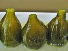 Yeşil incir reçeli Jam Recipes, Fruit Recipes, Dessert Recipes, Avocado Dessert, Avocado Toast, Green Fig, Fig Jam, Couscous Salad, Cook At Home