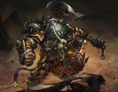 ArtStation - Tauren Warrior, Gelar Esapria Kharisma