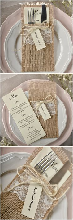 Wedding menu #4lovepolkadots #weddingmenu #wedding #forestwedding #wedding #menucard