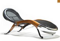 Con sede en Canadá el diseñador de muebles David Catta es el cerebro que hay detrás de esta original y especial silla aviador.