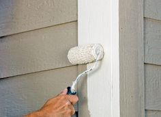 Thanks to cooler, more comfortable weather, fall is the perfect time to touch up your home's exterior. Be sure not to ruin the renewed finish by using the wrong techniques. Select a high-quality exterior paint with an acrylic base, and don't choose a windy day for the job.