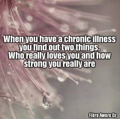 ...especially when five chronic illnesses rear their ugly heads over a period of ten years (in addition to the psychological illnesses you already have)