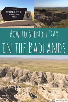 A Little Bit About the Badlands Badlands National Park is a strange place. The landscape is like nothing I had ever seen before and I stated a few times while I was there that I felt like I was on … Badlands National Park, Us National Parks, Yellowstone National Park, South Dakota Vacation, South Dakota Travel, Bad Lands South Dakota, Rapid City South Dakota, North Dakota, North America