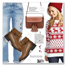 """""""Tis the season to be Jolly"""" by mycherryblossom ❤ liked on Polyvore featuring Mode und Current/Elliott"""