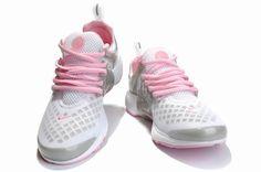 sports shoes 916f0 11177 Womens Nike Air Presto LE   Nike Air Presto LE Grey   White   Pink Shoes