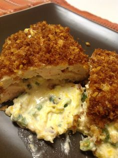 Jalapeno Popper Chicken- this is supper tonight!  I made it tonight and it was SO good.  Best jalapeno chicken we've ever made.  JenD