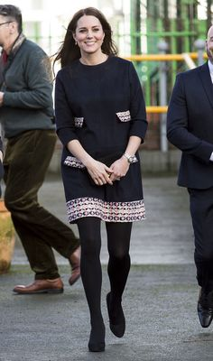 Jan 15, 2015.. .Photo: Getty Images....This morning, Kate Middleton and the baby bump were in attendance at the Barlby Primary School, the bump wearing a lovely maternity dress by Madderson London to walk amongst its people for the first time as a visible protrusion. The force of its mere presence is so strong that it crashed Madderson London's site. And yet, despite its power, it moves so unassumingly, so humble in the wake of its subjects.