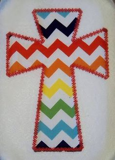 Vintage Cross Applique Machine Embroidery by SillyCatDesigns, $3.50