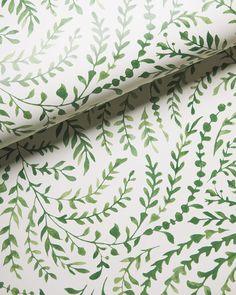 Dress up your bedroom with geometric, grasscloth and floral wallpaper! Shop bedroom wallpaper now at Serena and Lily. Lily Wallpaper, Accent Wallpaper, Bathroom Wallpaper, Home Wallpaper, Textured Wallpaper, Textured Walls, Pattern Wallpaper, Wallpaper Ideas, Green Floral Wallpaper
