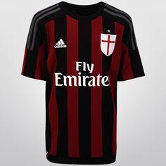 Con el Jersey Infantil Adidas Milán Casa 15/16 s/n°, tus pequeños podrán lucir con orgullo su afición por el histórico club europeo. Está confeccionado con tejido CLIMACOOL, sistema que lo mantendrá fresco y seco todo el tiempo