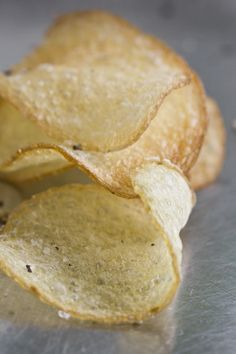 Salt and vinegar chips with a vinegar salt recipe I can use on popcorn too!  Yum!