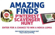 1. follow Nokia #amazingfinds