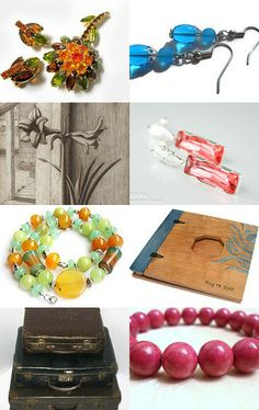 From Green to Red, through Blue and Black by Anya on Etsy--Pinned with TreasuryPin.com