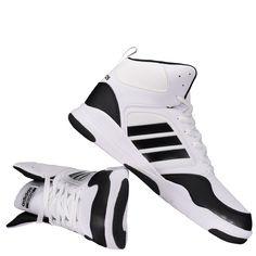Tênis Adidas Cloudfoam Rewind Mid Branco Somente na FutFanatics você compra  agora Tênis Adidas Cloudfoam Rewind d22c097db5dd3