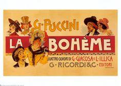 giacomo puccini -opera posters - Google Search