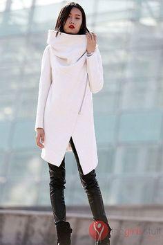 YUNY Women Textured Audrey Hepburn Style Eco Fleece Duster Coat Beige L