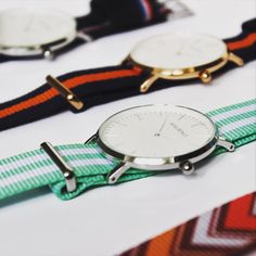 Which one of our watches do you like most? Maine, Syracuse, Villanova or La Salle? We currently have the hots for our 'Syracuse' watch! #mymaurino Get your favorite watch now at www.onemaurino.de