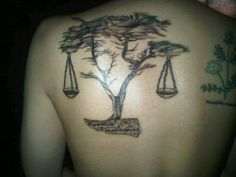 Scales of justice-tree