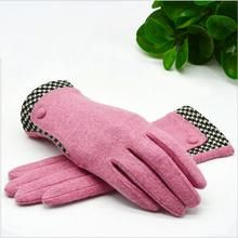 Wool Gloves with Minimal Plaid Pattern George Michael Songs, Wool Gloves, Plaid Pattern, Minimal, Color, Colour, Colors, Minimal Techno