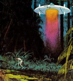 DEAN ELLIS - art for Judgement on Janus by Andre Norton - 1972 Ace Books