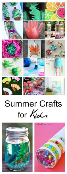 Summer Ideas| Summer Craft Ideas for Kids - The Idea Room