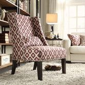 Found it at Wayfair - St. Victoria Wingback Chair in Lavender
