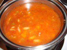 Qu'est-ce qu'on mange pour souper?: Soupe orge et tomates