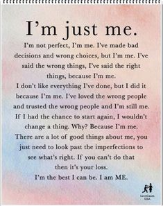 I am me quotes, calm quotes, my life quotes, new day quotes, relationship q My Life Quotes, New Quotes, Relationship Quotes, Quotes To Live By, Motivational Quotes, Inspirational Quotes, Qoutes, Im Me Quotes, Calm Quotes