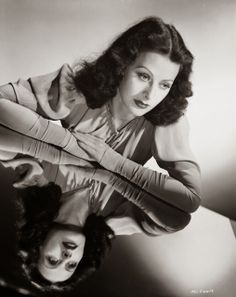 Miss Lindsay Lane: [ Newspaper throwback ] Hedy Lamarr's beauty tips - Health surest road to beauty!