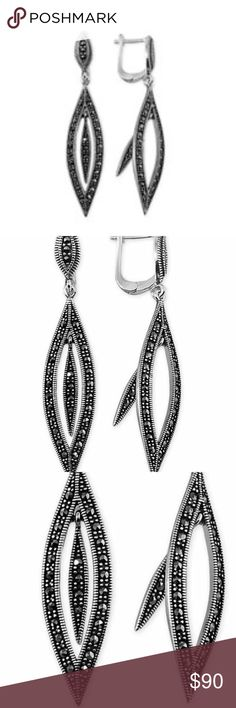 925 Sterling Silver Geometric Design Earring 925 Sterling Silver. Weight 1 oz. 100% brand new. Hand made. Manufacture is Turkey. moonwolf Jewelry Earrings