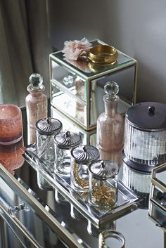 All glass and mirrors, our new dreamscape bathroom range is perfect for a vintage-inspired style.