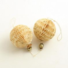 Vintage #Christmas Ornaments Honeycomb Lantern by efinegifts, $11.95
