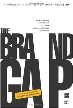The Brand Gap: How to Bridge the Distance Between Business Strategy and Design: Marty Neumeier: 0785342348101: Amazon.com: Books