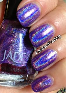 Fashion Footing: Jade Fascinio Violeta and Hypnose