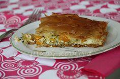 Κολοκυθόπιτα, από κίτρινη κολοκύθα Pie, Desserts, Food, Torte, Tailgate Desserts, Cake, Deserts, Fruit Cakes, Essen