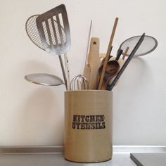 Kitchen utensils, an obvious determination.