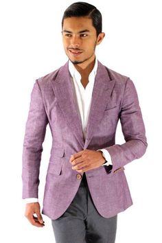 Tommy Hilfiger Men's Trim-Fit Side-Vent Washed Linen Sport Coat ...