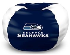 [[start tab]] Description This Seattle Seahawks NFL Bean Bag Chair is the perfect addition to every football fan's bedroom, living room or den. The shell is made of 100 percent Polyester fabric, with Seahawks Gear, Seahawks Fans, Seattle Seahawks, Football Fans, Seahawks Football, Childrens Bean Bags, Nfc Teams, Different Sports, 12th Man