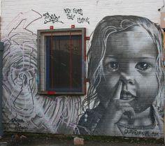 Graffitis arte callejero...
