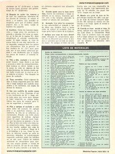 Construya su Escritorio de Tapa Corrediza - Abril 1976