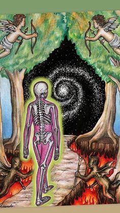 Christian Drawings, Psychedelic Drawings, Psy Art, Visionary Art, Art Sketchbook, Art Inspo, Art Projects, Art Drawings, Original Art
