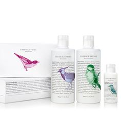 LOVE the wildlife packaging - Green and  Spring skincare
