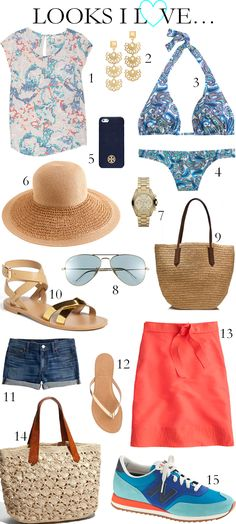 I need a beach vacation ... and will wear these clothes