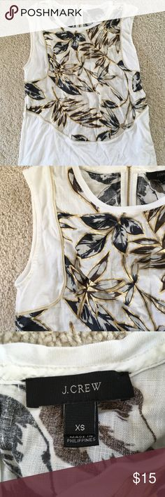 J crew tank J crew tank top size xs. Selling bc not my style anymore  My measurements are 32 bust 25 waist 32 hips. J. Crew Tops Tank Tops
