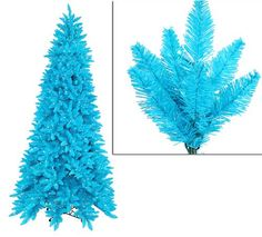 $1,499.99-$1,999.99 12 Foot Pre-Lit Artificial Christmas Tree From the Ashley Spruce Designer Collection Item #K881791 This winning pre-lit tree is an exciting hard-to-find designer sky blue color.  The lights are also a designer color with matching sky blue wire and a mixture of clear & opaque blue bulbs. Our designers worked very hard to find the perfect shade of sky blue to create this outsta ...