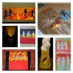 shadrach meschach abendago fiery furnace craft kids