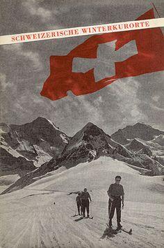 """""""Schweizerische Winterkurorte,"""" circa 1935"""