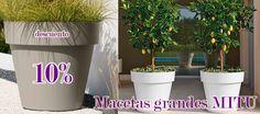 Macetas grandes Mitu con un 10% de descuento.  Clic: https://jardineriakuka.com/macetas-mitu/11663-macetas-grandes-mitu.html  #macetas #macetasgrandes #macetasmitu