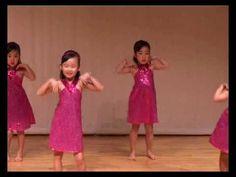 5 Year Old Girls Dance to Wonder Girls' Nobody